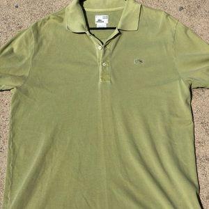 Vintage wash Lacoste polo shirt
